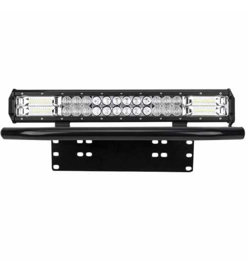 Bull bar cu led bar