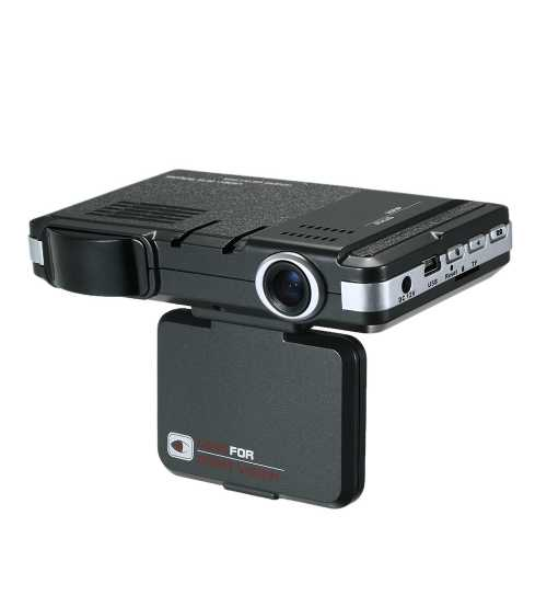Camera auto DVR cu Detector radar incorporat