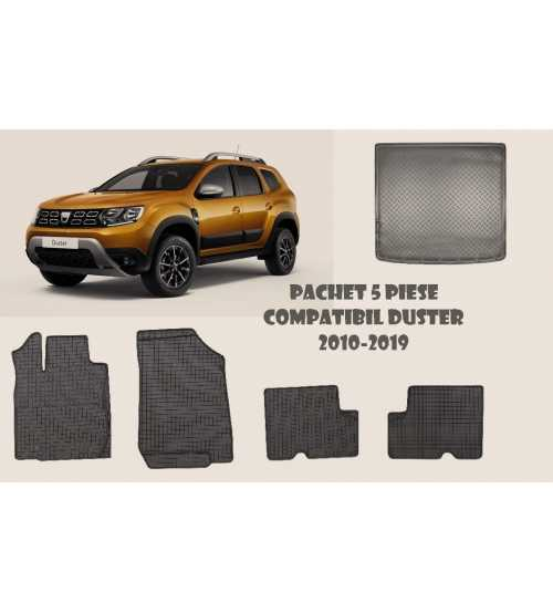 Pachet covorase Dacia Duster