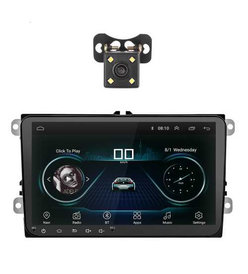 Dvd Auto VW SKODA SEAT Android 9 inch