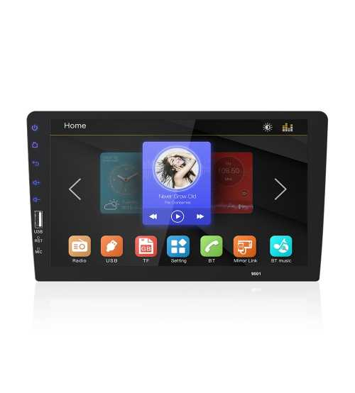 Dvd auto 1 din Ecran 9 inch Fix MIRRORLINK