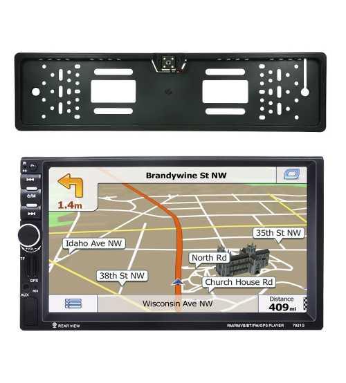 Dvd Auto 2 Din GPS Cu Camera