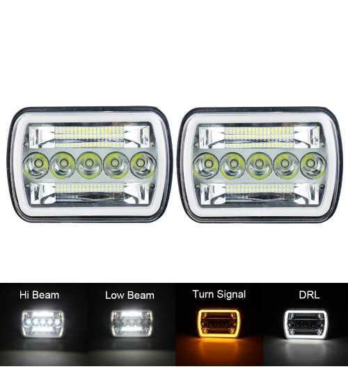 Set Set Faruri LED JEEP Wrangler YJ / Cherokee XJ Toyota, ETC130W Tm SS