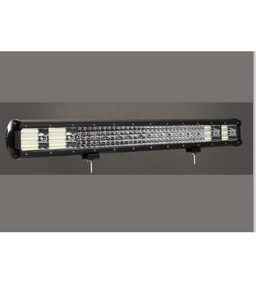 Led Bar 1080W QUAD RAW Lumina Spot si flood 108000 Lm Alimentare 12/24 PRO+kit cabluri