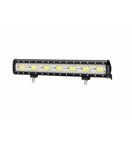 Led bar 432w  9D lumina spot si flood  alimentre 12-24v  Lungime 50.5 cm