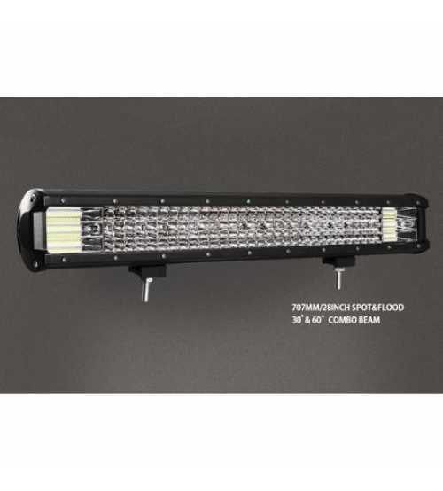 Led bar 660 w 12D Spot si Flood Alimentare 12-24v 66000 LM
