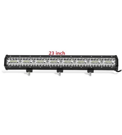 Led Bar 480w 9D Lumina Spot Si Flood Alimentre 12-24v Lungime 58 Cm