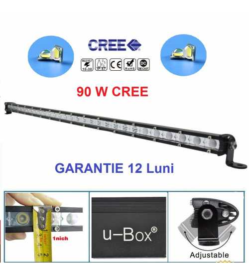 Led bar 90w SLIM