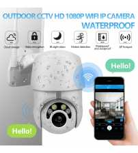 Camera Wi-Fi PTZ CCTV IP 2 Cai Audio-Interfon, Retea, Exterior-Interior 1080 p