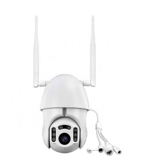 Camera Wi-Fi PTZ CCTV IP 2 Cai Audio-Interfon, Retea, Exterior-Interior 2 ANTENE Semnal