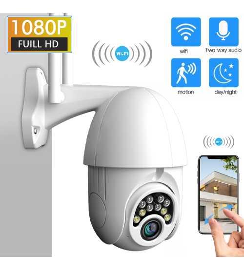 Camera Wi-fi PTZ CCTV IP 2 cai audio-Interfon, retea, Exterior-interior