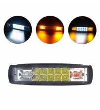 Set 2 buc Proiector BICOLOR LED 48w Auto Offroad /12V-24V, 3740 LM,