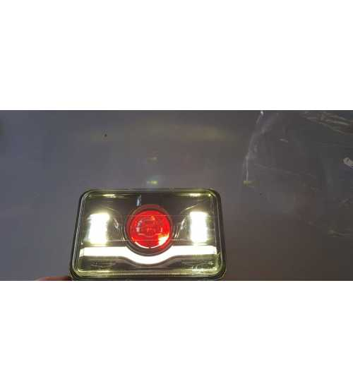 Set Faruri camion, Jeep, Camion Led, Angel eyes bicolor