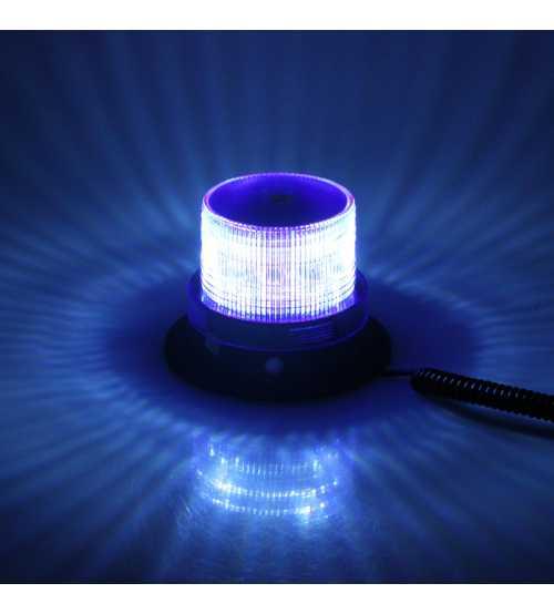 Girofar Omologat U.E. Cu Led SMD IP65 12-24V Lumina Albastra