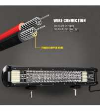 Led Bar Auto 432 W 12-24 Quad Raw
